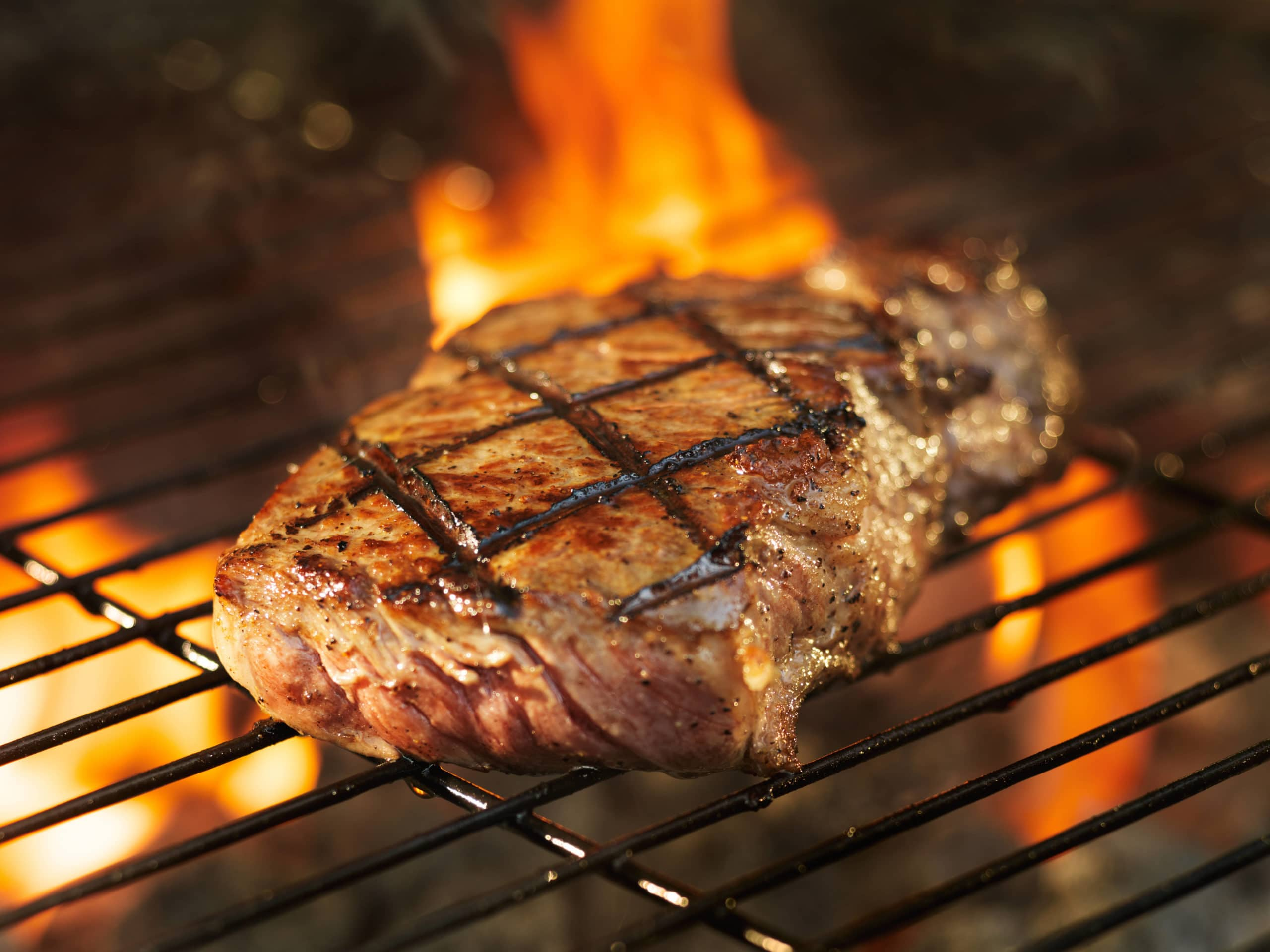 chop on grill